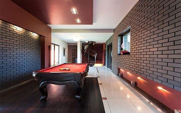 Pool Basement Room